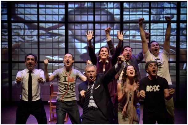 Transición by Alfonso Plou and Julio Salvatierra, María Guerrero National Theatre. Photo: David Ruano.