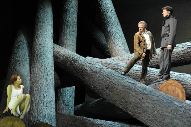 Karl Schönherr's Der Weibsteufel, directed by Martin Kušej. Residenztheater München, Recklinghausen, 2013. Photo: Hans Jörg Michel.