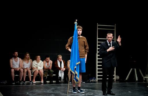 Tadeusz Słobodzianek's Our Class, Lodz 2013. Photo: Courtesy of Teatr Nowy.
