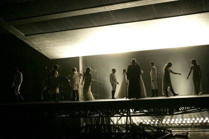 Sebastian Hartmann's War and Peace. Photo: Courtesy of Theatertreffen.