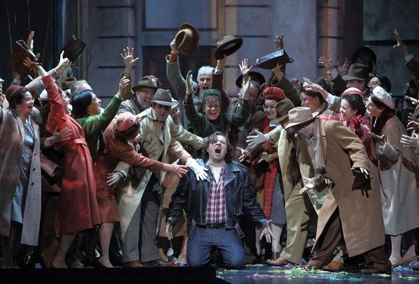 Simon Boccanegra at the Bayerische Staatsoper. Photo