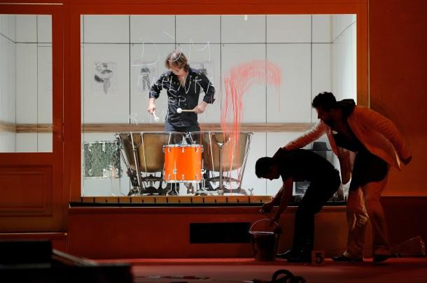 Karol Horák´s Evidence of Blood, directed by Agnieszka Olsten. Photo: Tom Ciller.