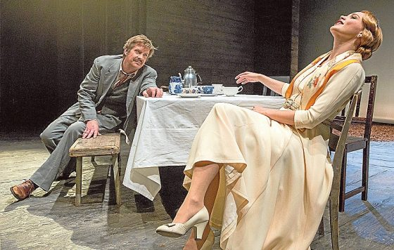 Uncle Vanya directed by Tamás Ascher. Photo courtesy of Helsinki City Theatre.