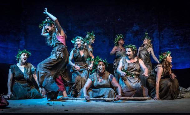 Bakkhai at the Almeida Theatre, London. Photo credit: Marc Brenner.