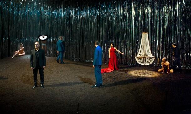 Lorca's The Public directed by Àlex Rigola at the Sala Juan de la Cruz.