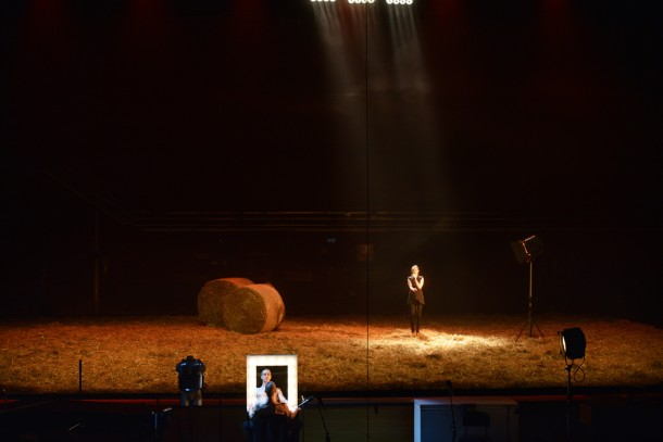 The Iliad by Homer, directed by Jernej Lorenci at SNG Drama Ljubljana. Photo credit: Peter Uhan.