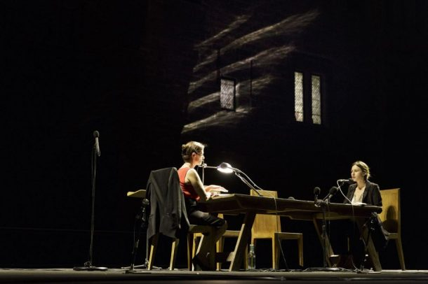 Yitzhak Rabin: Chronique d'un assassinat, directed by Amos Gitaï. Photo: Christophe Raynaud de Lage.
